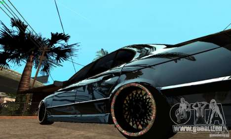BMW 525 pour GTA San Andreas vue de droite