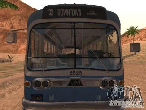 GM TDH-5303 pour GTA San Andreas laissé vue