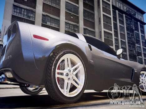 Chevrolet Corvette Z06 für GTA 4 hinten links Ansicht