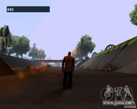 Allure de gangster pour GTA San Andreas troisième écran