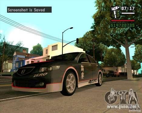 Honda Accord Type-S pour GTA San Andreas
