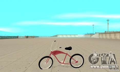 Classic Bike für GTA San Andreas linke Ansicht