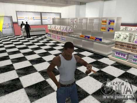La capacité à fumer pour GTA San Andreas quatrième écran