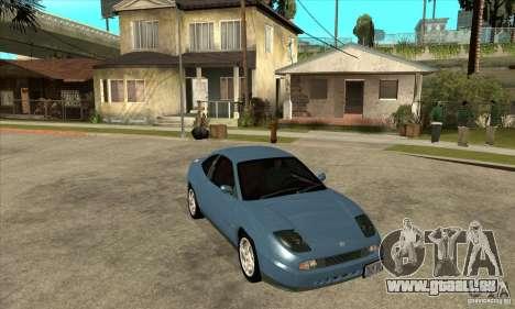Fiat Coupe - Stock pour GTA San Andreas vue arrière