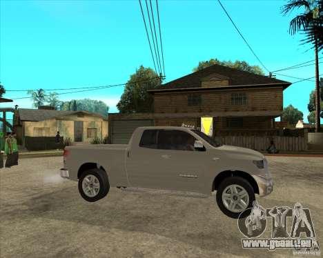 2008 Toyota Tundra für GTA San Andreas rechten Ansicht