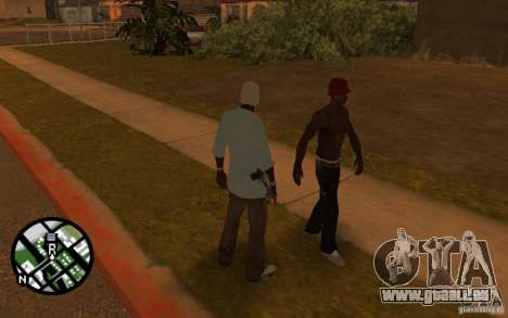 Haut-sbmycr für GTA San Andreas dritten Screenshot