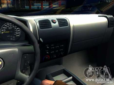 Chevrolet Colorado 2003 pour GTA San Andreas vue de côté