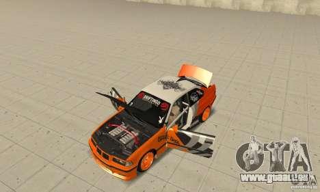 BMW Alpina B8 WideBody für GTA San Andreas Rückansicht
