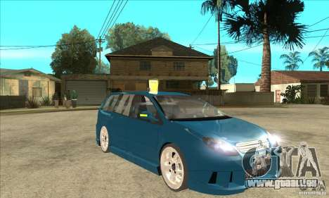 Citroen C5 Break für GTA San Andreas Rückansicht