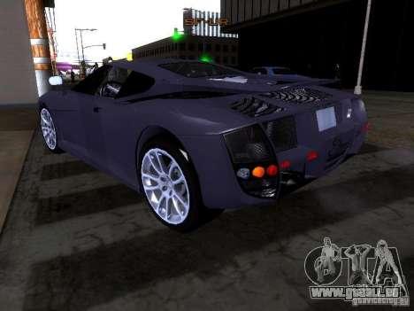B Engineering Edonis pour GTA San Andreas vue intérieure