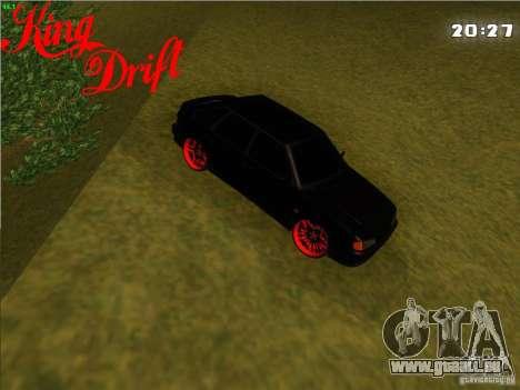 ВАЗ 2114 diable Style pour GTA San Andreas sur la vue arrière gauche
