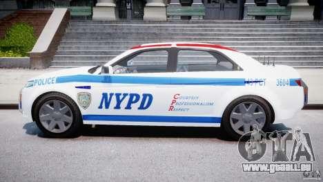 Carbon Motors E7 Concept Interceptor NYPD [ELS] pour GTA 4 est une vue de l'intérieur