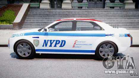 Carbon Motors E7 Concept Interceptor NYPD [ELS] für GTA 4 Innenansicht