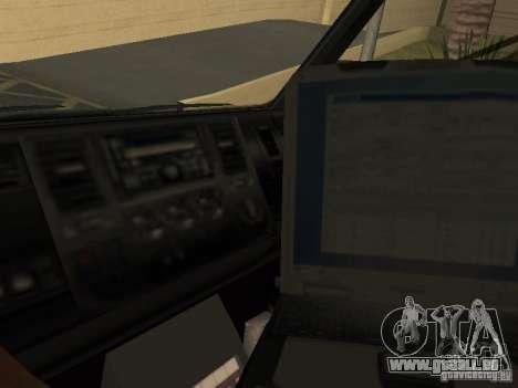 London Ambulance pour GTA San Andreas vue de droite