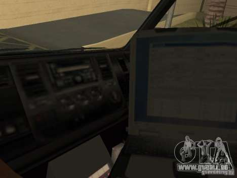 London Ambulance für GTA San Andreas rechten Ansicht