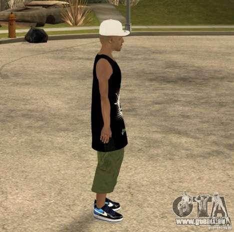 Cone Crew Skin pour GTA San Andreas cinquième écran
