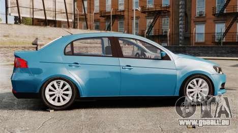 Volkswagen Voyage G6 2013 pour GTA 4 est une gauche
