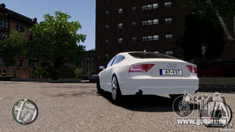 Audi A7 Sportback pour GTA 4 est un droit