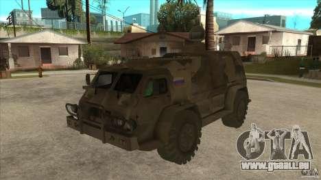 GAZ 39371 Vodnik pour GTA San Andreas