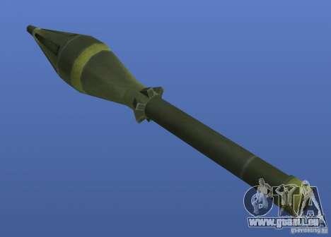 Weapons Retex pour GTA 4 sixième écran