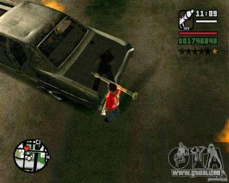 Plymouth Fury III pour GTA San Andreas vue de droite
