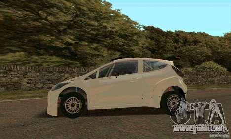 Ford Fiesta Rally pour GTA San Andreas salon