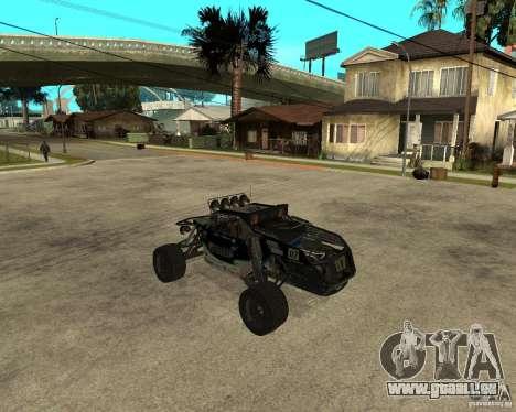 BAJA BUGGY pour GTA San Andreas laissé vue
