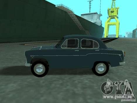 Moskvich 407 pour GTA San Andreas laissé vue