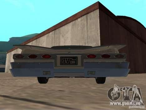 Vaudou de GTA 4 pour GTA San Andreas vue de droite