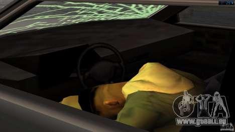 Mort dans la voiture pour GTA San Andreas troisième écran