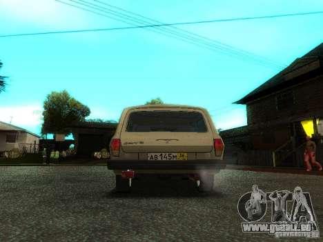 GAZ Volga 310221 Wagon pour GTA San Andreas vue arrière