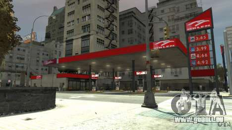 New gas station für GTA 4