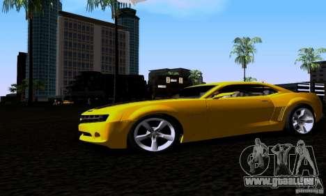 Chevrolet Camaro für GTA San Andreas rechten Ansicht