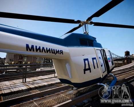 Russian Police Maverick für GTA 4 linke Ansicht