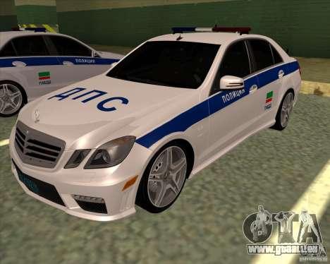 Mercedes-Benz E63 AMG W212 pour GTA San Andreas