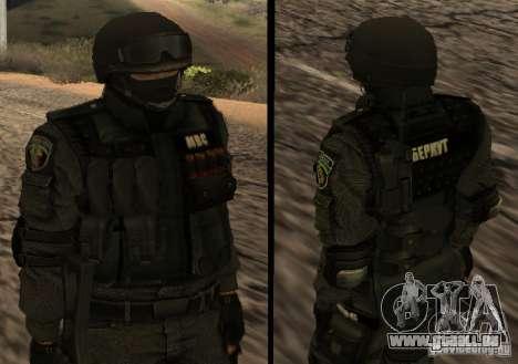 Ukraine Swat pour GTA San Andreas