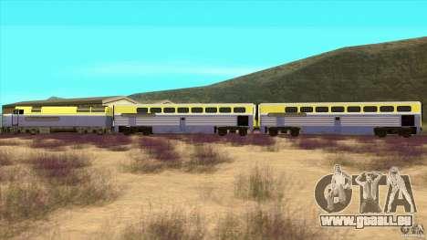Latvian Train pour GTA San Andreas laissé vue
