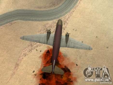 Bombes pour avions pour GTA San Andreas septième écran
