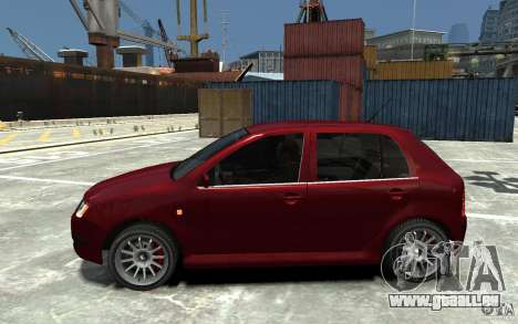 Skoda Fabia für GTA 4 linke Ansicht
