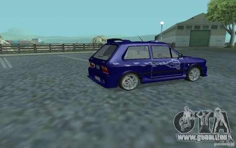 Yugo 45 Tuneable pour GTA San Andreas vue arrière