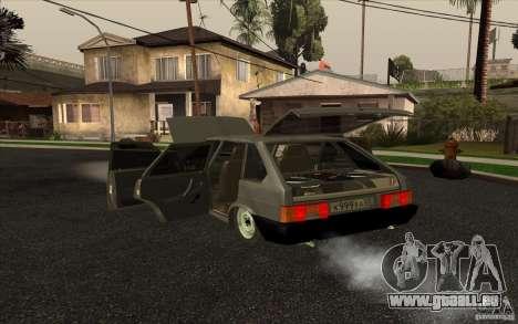 VAZ-2109 pour GTA San Andreas laissé vue