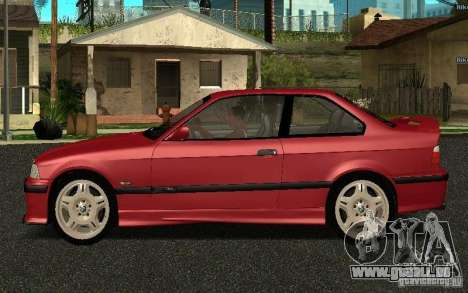 BMW E36 M3 1997 Coupe Forza pour GTA San Andreas laissé vue