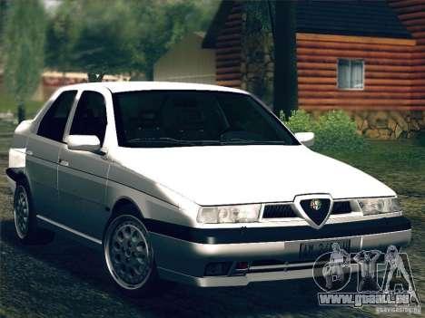 Alfa Romeo 155 1992 pour GTA San Andreas vue intérieure