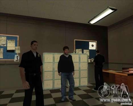 Sashka gypaète barbu pour GTA San Andreas quatrième écran