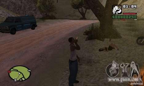 Entspannung im Tal für GTA San Andreas zweiten Screenshot