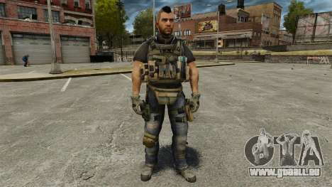Le capitaine John « 4 » Mctavish pour GTA 4