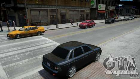 Lada Priora Light Tuning pour GTA 4 est un côté