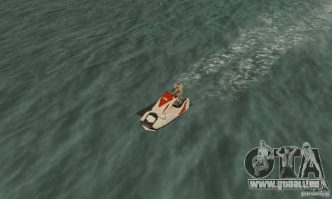 Hydrocycle für GTA San Andreas