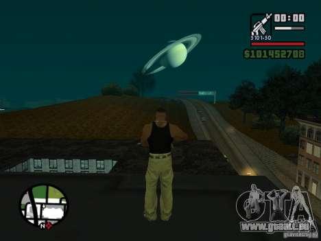 Saturn Mod für GTA San Andreas