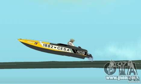 Cesa Offshore für GTA San Andreas Innenansicht